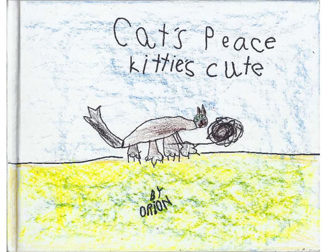 Cat's Peace kittie's cute