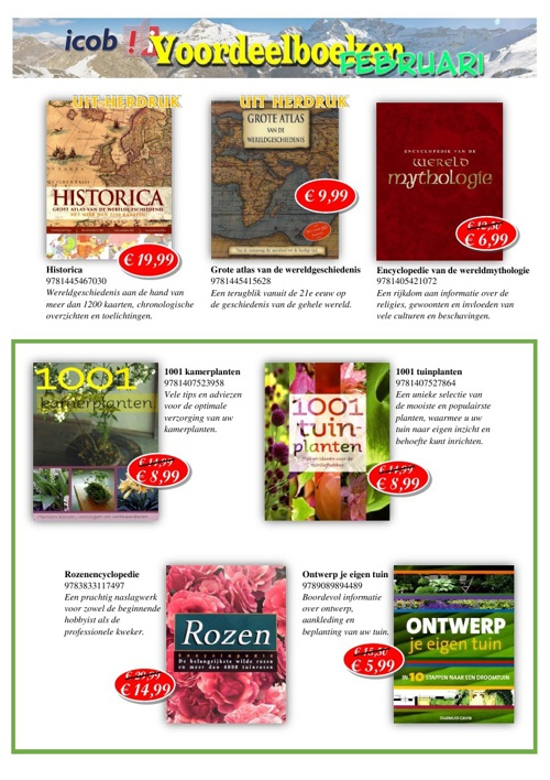 Icob voordeelboeken Februari 2014