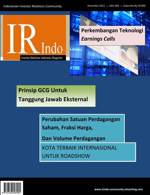 IR Indonesia Magz - Desember 2013