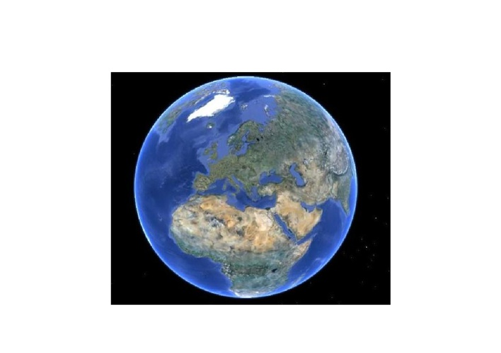 Slijepe karte i satelitske slike