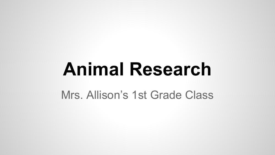 Allison Research