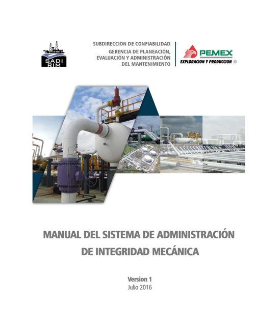 Manual del Sistema de Administración de Integridad Mecánica 11 j