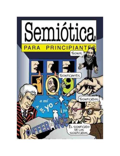 Semiótica para principiantes