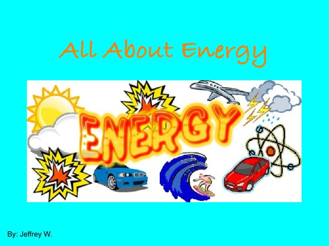 Waldrip All about energy
