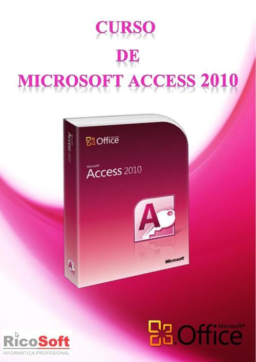 Curso de Access 2010 RicoSoft