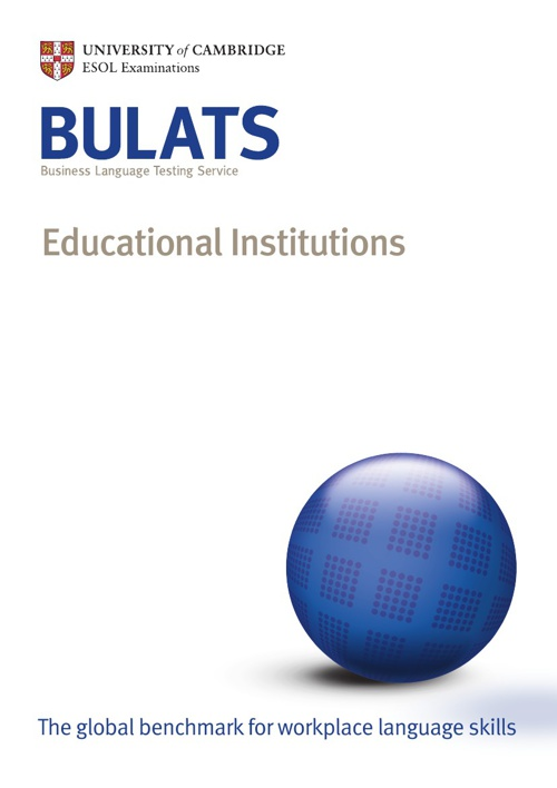 BULATS - Education Institutions