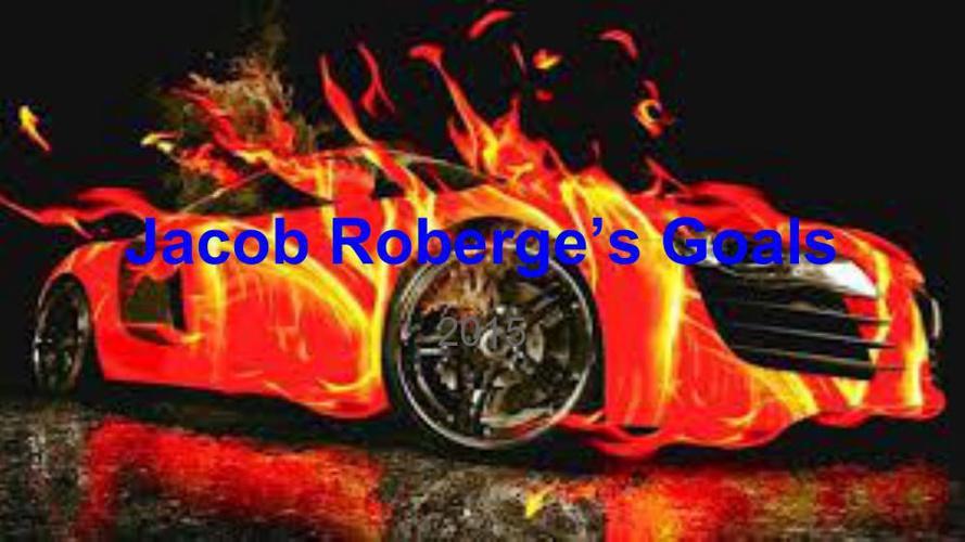 Goal Setting 2015 Jacob Roberge