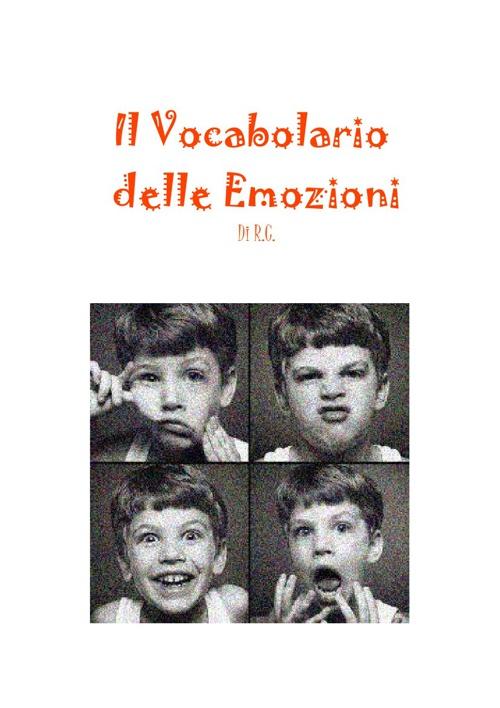 Il  Vocabolario delle Emozioni