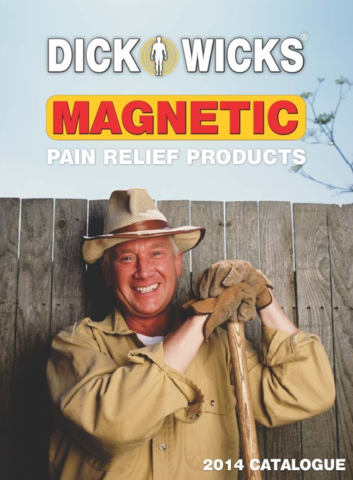 Dick Wicks Magnetic Pain Relief Products