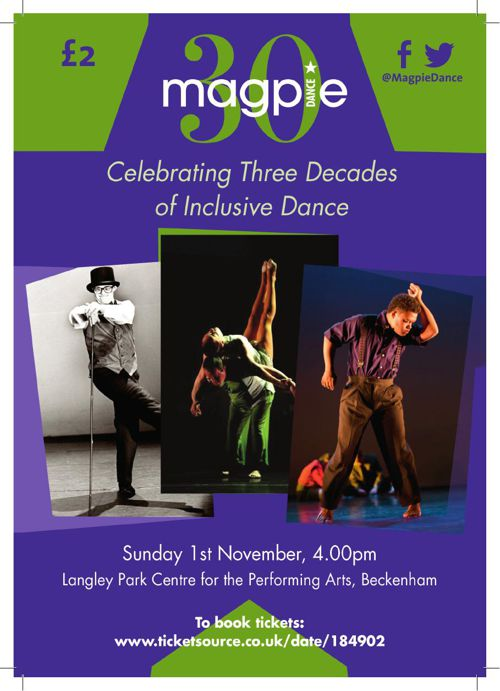 Magpie Dance 30th Performance Programme