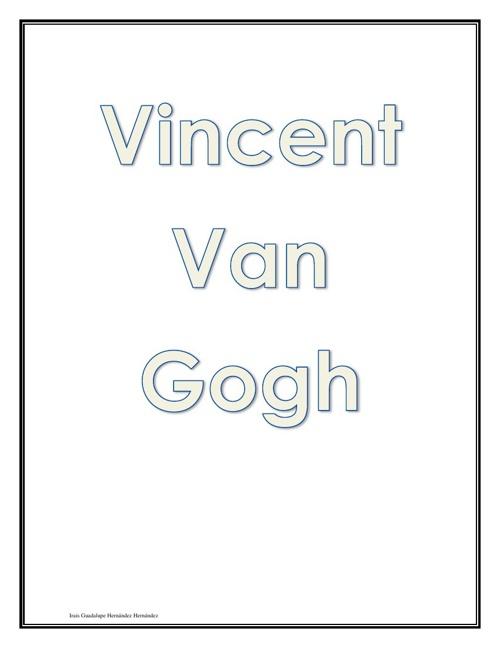 Historia de Vincent Van Gogh