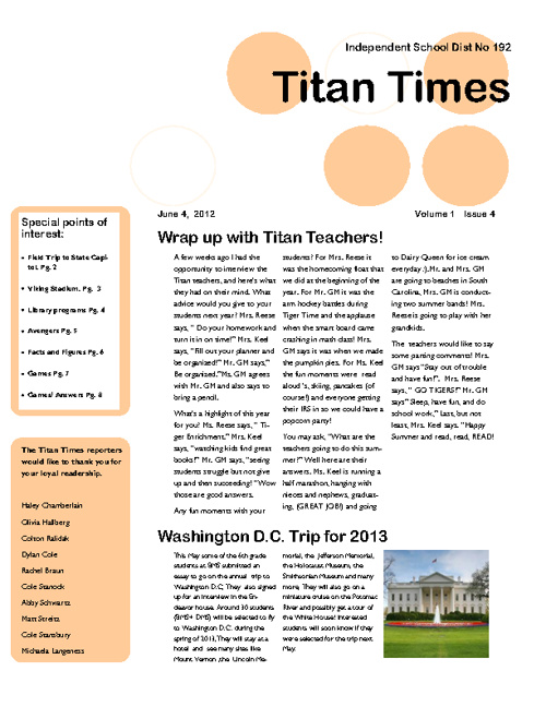 Titan Times-June