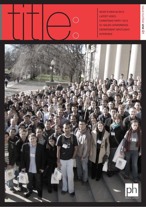 PH Media Newsletter issues 1