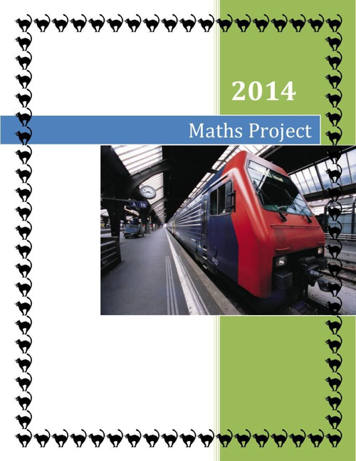 Physics and Math Integrated Project
