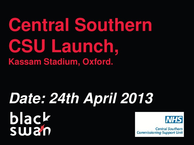Central Southern CSU Launch