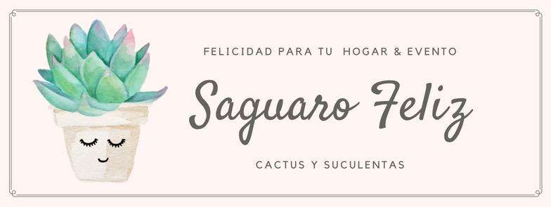 Saguaro Feliz