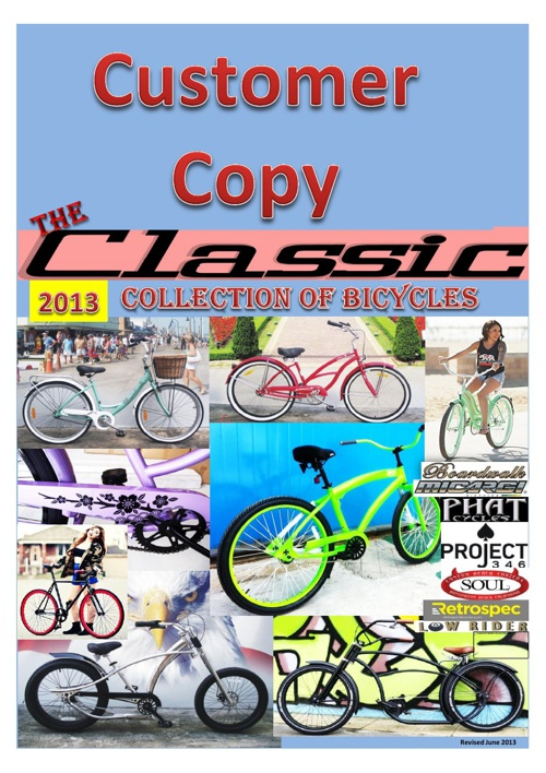 Classic Bicycles 2013 Catalogue
