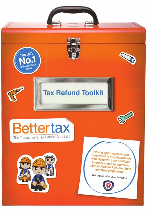 Bettertax Tax Refund Toolkit Brochure