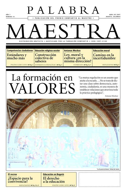 Palabra Maestra, Edición 15