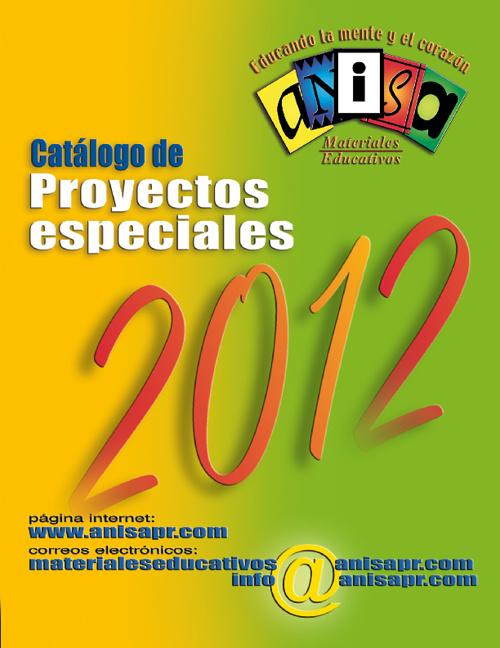 Catálogo de Proyectos Especiales