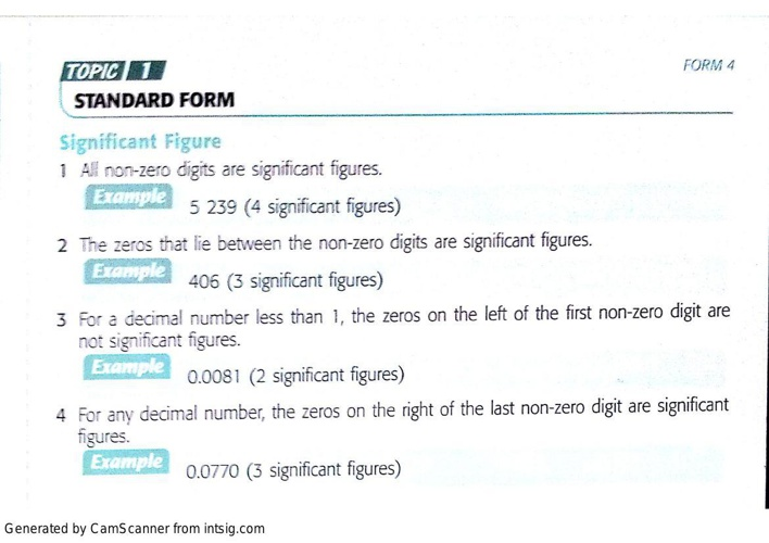 FORM 4 SHORT NOTES (TOPIC 1 - 4)