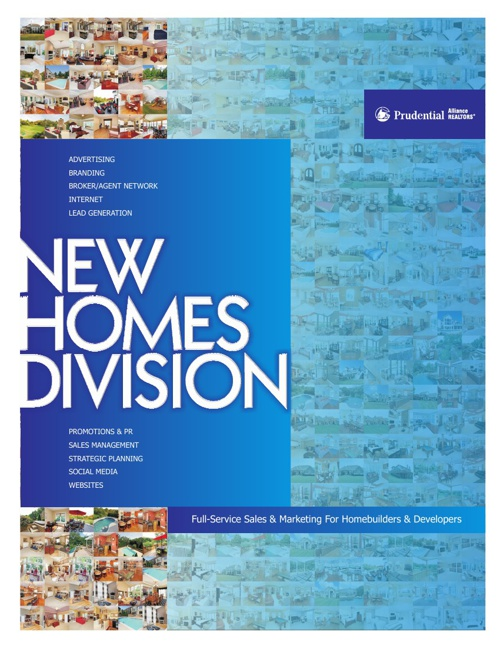 New Homes Division Prudential Alliance Realtors