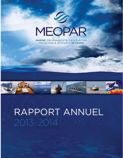 MEOPAR Rapport Annuel 2014 French