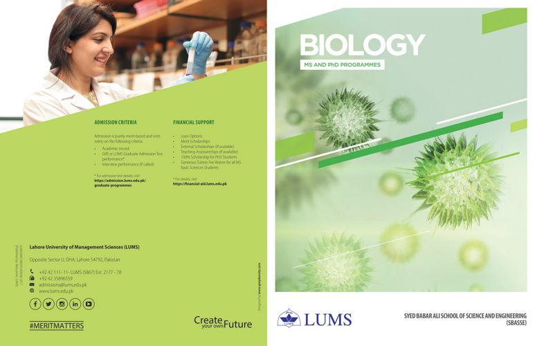 SSE Biology Flyer