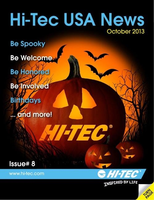 Hi-Tec USA News October 2013