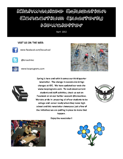 KEC April Newsletter