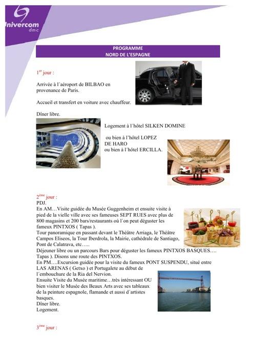 Programme Univercom