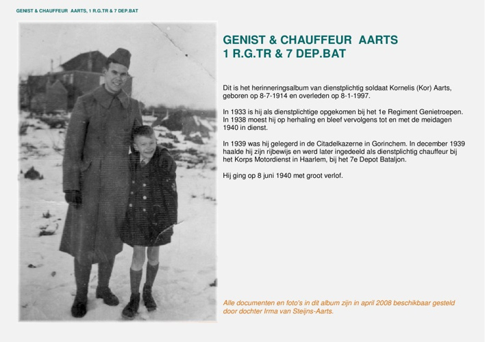 Fotoboek Genist Aarts