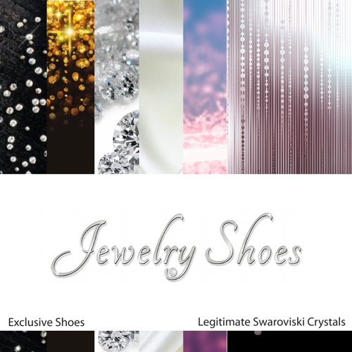 Jewelry Shoes - Diamond