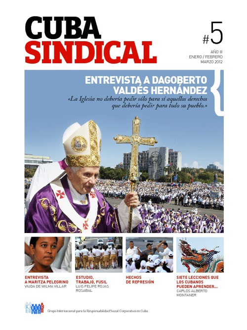 Cuba Sindical #5 Año 3 / Enero-Marzo 2012