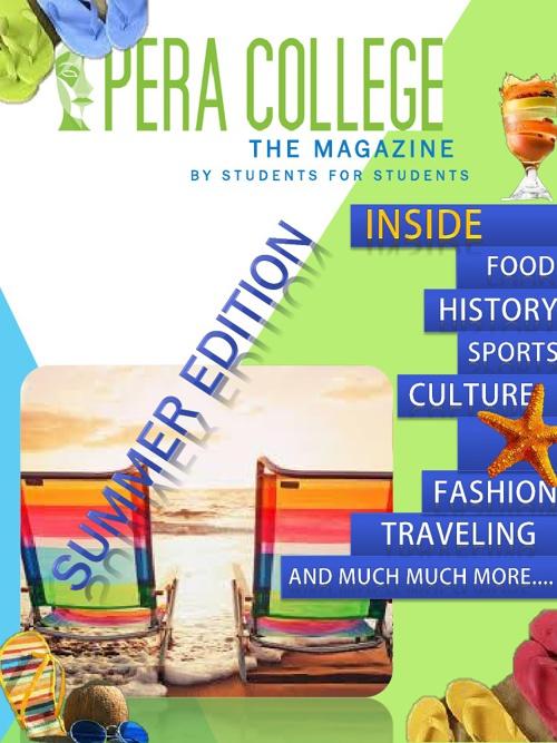 PERA's Students' Magazine