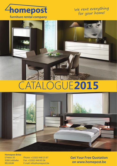 Homepost Catalogue 2015