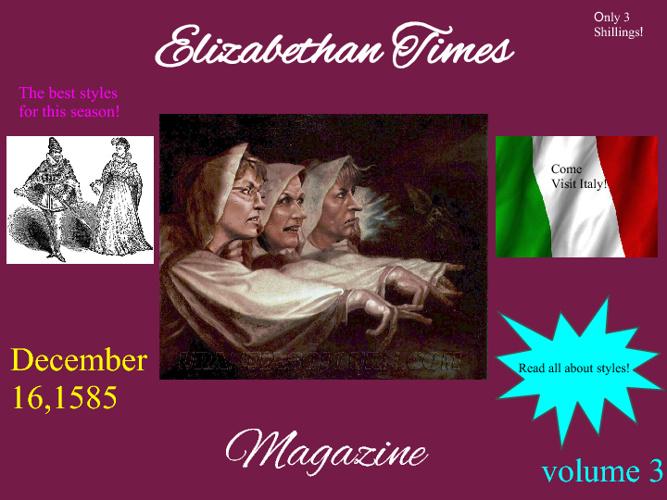 Elizabethan Magazine