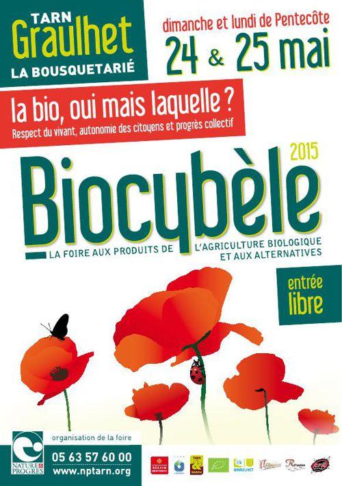 Le programme de la foire Biocybele 2015