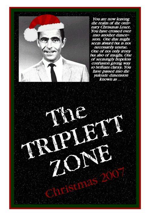 2007 Triplett Christmas Letter