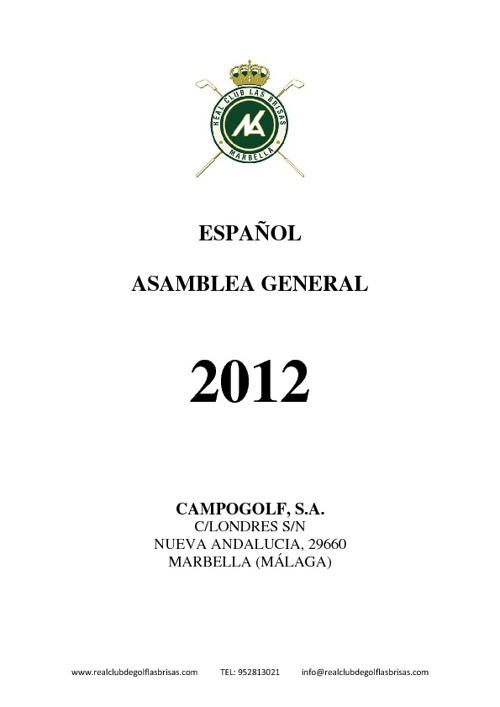 AGOE 2012 DOCUMENTACIÓN