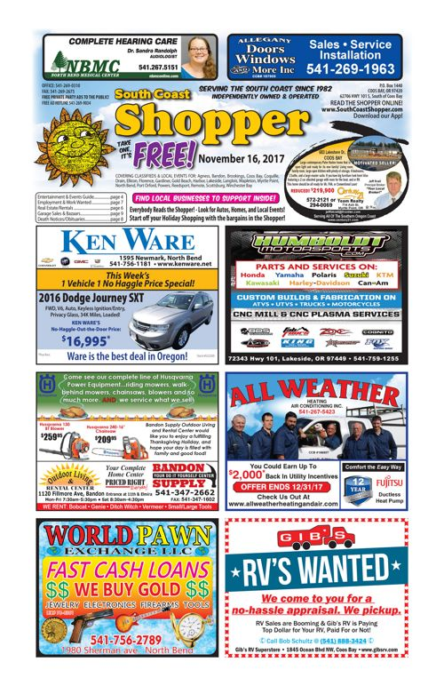 South Coast Shopper e-Edition 11-16-17