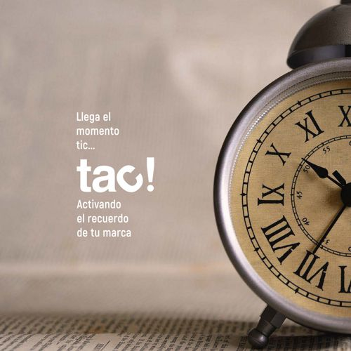 Tac! activando el recuerdo de tu marca