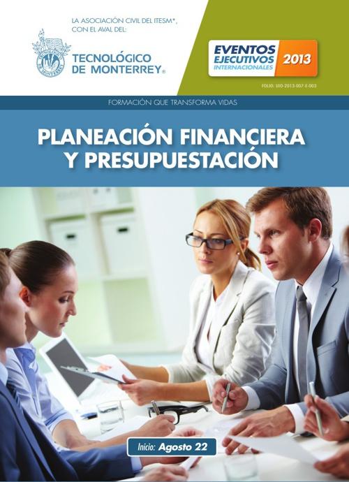 Planeación Financiera y Presupuestación