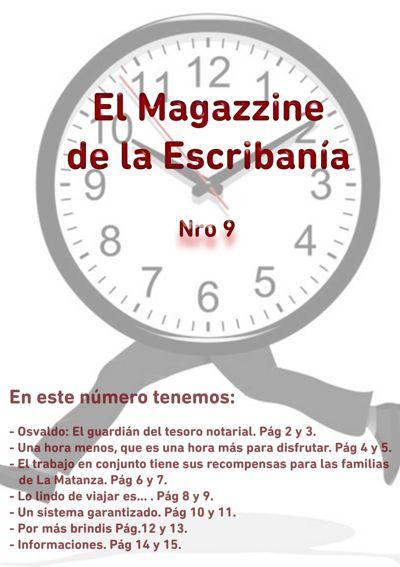 Magazzine N° 9