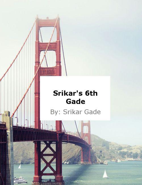 Srikar's Narrative Flipbook