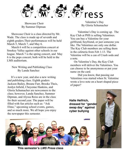 LMS Press February