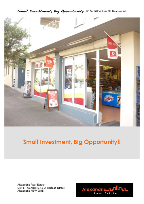 A Great Little Retail Property Investment