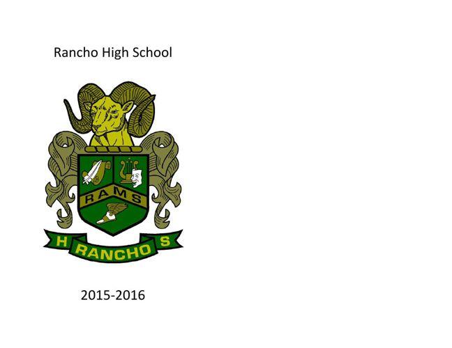 RHS Catalog 2015-16