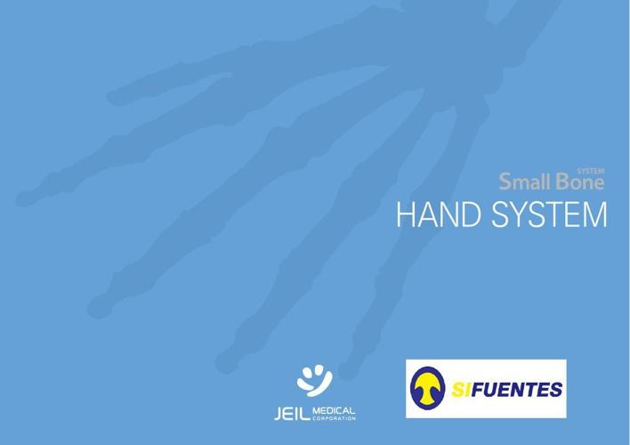 Sistema de reconstrucción para manos