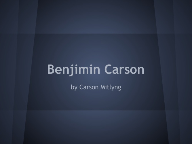 p .6. mitlyng carson